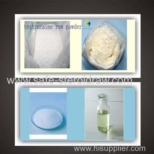 China Local Anesthetics Tetracaine Hcl Tetracaine Hydrochloride for Health