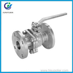 Lockable handles cast iron cf3m ball valve