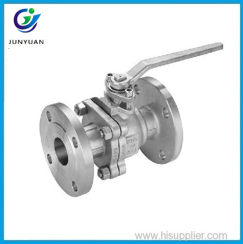 Lockable handles cast iron cf3m ball valve