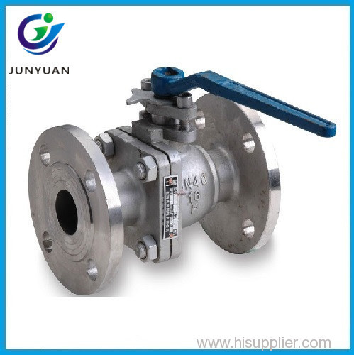 casting steel flange float ball valve dn125