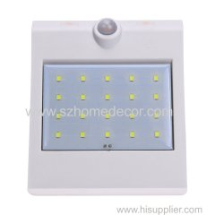 Solar light With Motion Sensor 24LED Illumination for Outdoor Areas Around the Home or Backyard Landscape Including Walk