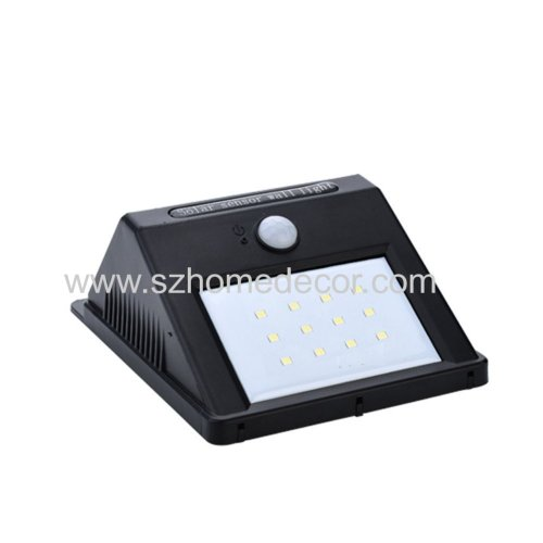 Super Bright 12 LED Motion Sensor Solar Wall Light