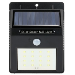 16 LED Solar Wall Light