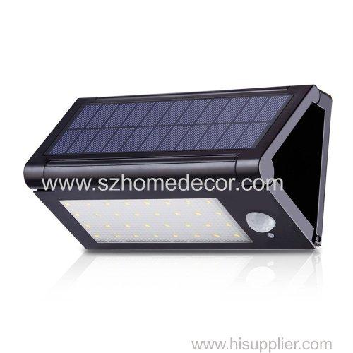 32LED Solar Powered Motion Sensor Outdoor Garden Lamp Wall Path Light Waterproof