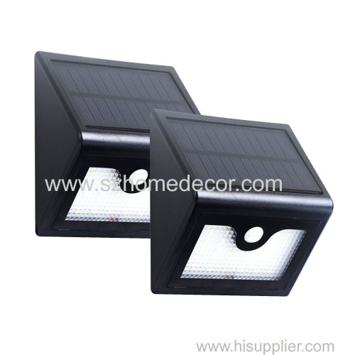 3.7V 1200mAh 26led solar motion sensor outdoor wall light garden light