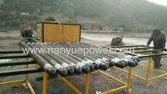 Mining fracturing machine equipment of carbon dioxide gas