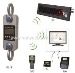 New Quality Digital Displayed Wireless Electronic Hand Dynamometer used to measure tension force in industry application