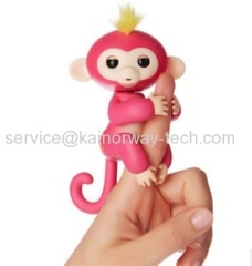 2017 Fingerlings Pet Electronic Interactive Little Baby Monkey Assortment Toys Gift Zoe Sound