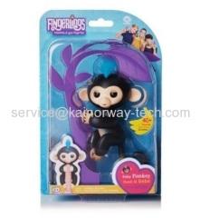 Wholesale Fingerlings Baby Monkey Mini Smart Sensor Finger Toy Kids XMAS Gifts