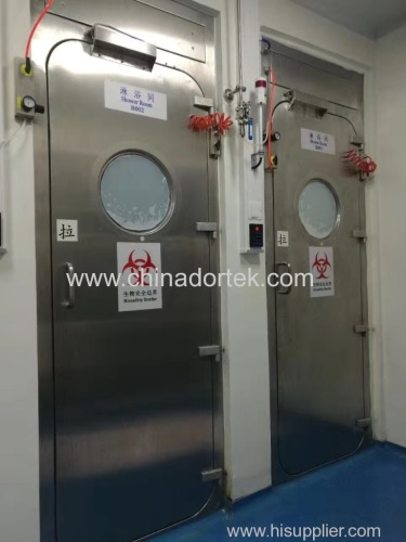 inflatable air tight gasket doors