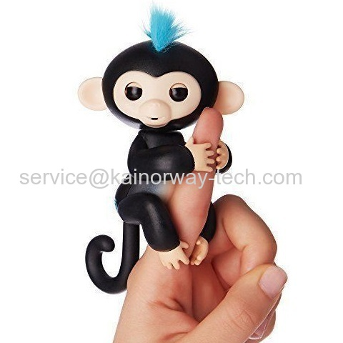 Fingerlings Electronic Pet Baby Monkey Interactive Children Kids Smart Colorful Induction Toys