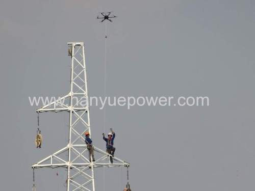 professional drone six rotors flying utility drone uav for sale for cvt  u0026 power line