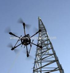 High voltage power line inspection drone power lines for utility companies using drones 4 transmission inspection cost