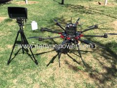 N6 Professional Drone Six Rotor Drone for Price High Voltage Power Cable Stringing and 35mm Power Cable Inspection