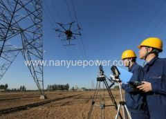 Best Power line and transmission line inspection robot drone flight cost with unmanned aircraft systems fr manufacturer