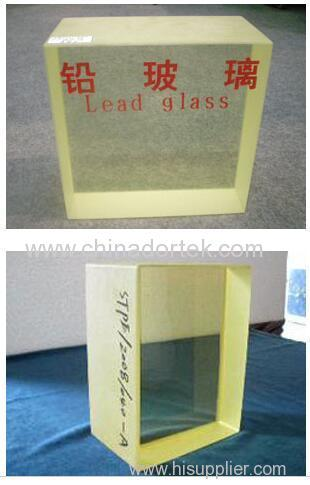 x-ray protection ZF6 lead glass