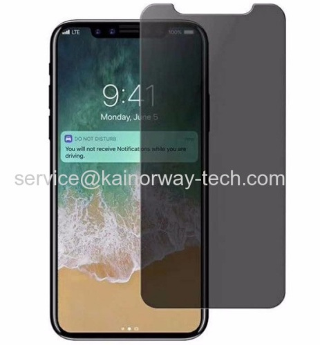 Anti-Glare Glare Reducing Premium Tempered Glass Curved Screen Protection For Apple iPhone8 Plus iPhone7/7 Plus