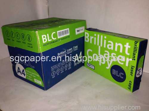 BLC paper A4 size copier paper 80gsm manufacturer from