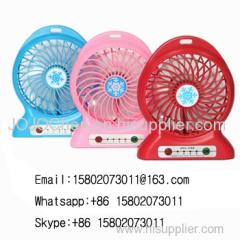 Portable rechargeable mini cooling fan usb small fan