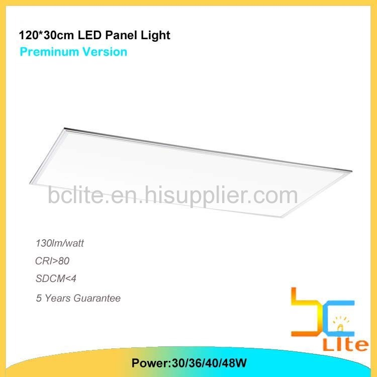 Best factory Price 300x1200 LED panel light 40w