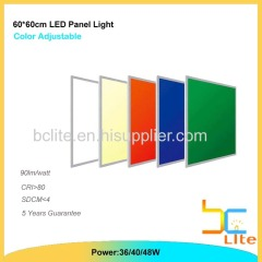 36w RGB panel lighting color changeable 2.4G control