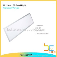 600x1200 LED panel lighting 60w