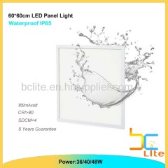 anti water 40w led panel light for bathroom