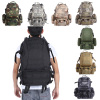 800D Nylon Multifunction Men Military Camouflage Enthusiasts Backpacks Bag Waterproof 50L Large-capacity Travel Bag