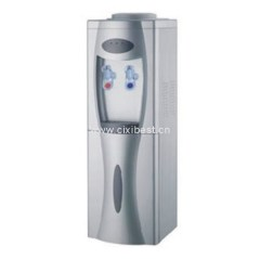 Silver Hot and Cold Water Cooler Dispenser