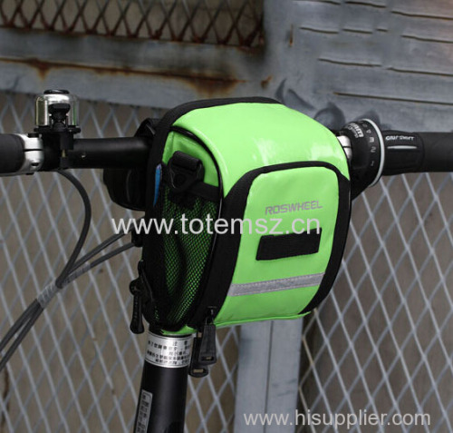 ROSWHEEL Bicycle Front Frame Tube Handlebar Holder Pannier Pouch Bag