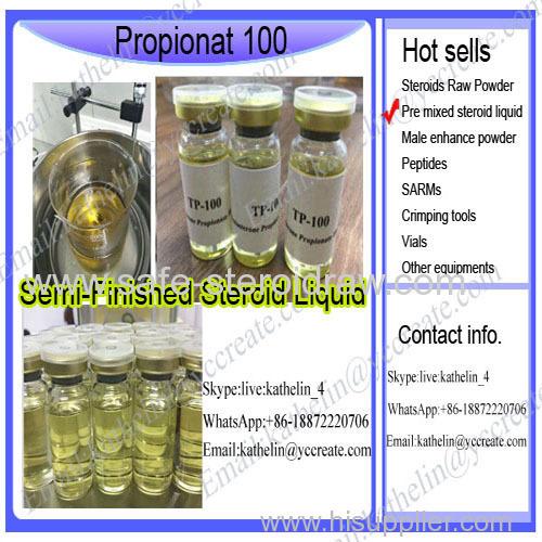 Premixed Steroid Injection Oil Propionat 100 / Tes tosterone Propionate /Test Prop