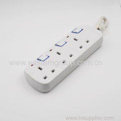multi outlet extension cord with spaced plugs