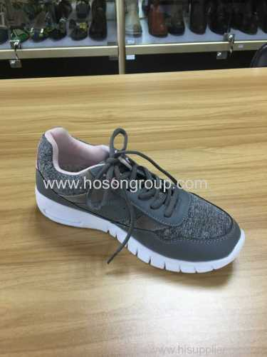 Lady casual running sports shoes