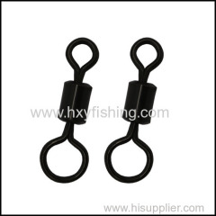 Carp fishing products series- Long rolling swivels with one side large and other side small