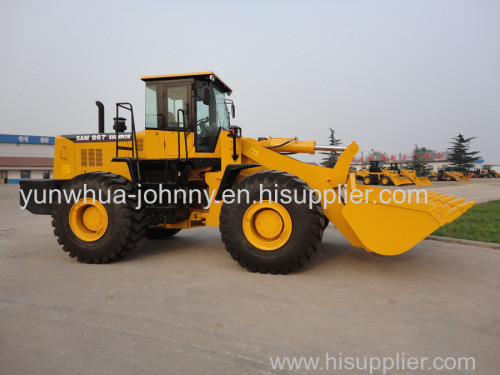 China cheap 6 ton Wheel Loader for construction and garden