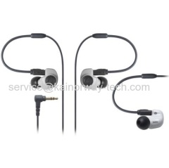 Wholesale Audio-Technica ATH-IM50 Dual Symphonic Drivers Inner Ear Monitor Earphone Headset White