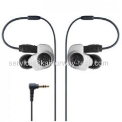 New Audio-Technica ATH-IM50 In-Ear White Dual Symphonic Drivers Monitor Headphone Earphones
