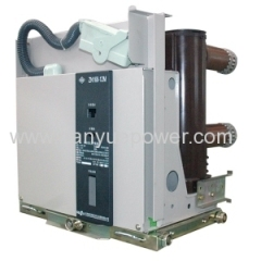 Model ZN indoor ac high voltage vacuum circuit breaker