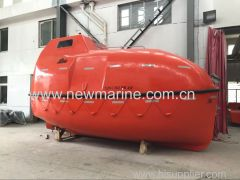 Totally enclosed lifeboats common type