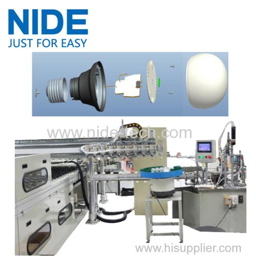 Customized LED bulb production machine