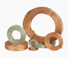 Copper wire-braided copper wire
