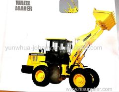 2017 new SAM836B wheel loader for sale