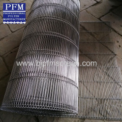 N shaped conveyer mesh belt