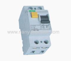 F Residual current circuit breaker