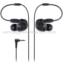 Wholesale Audio Technica ATH-IM50 Dual Symphonic Drivers In-Ear Monitor Canal Type Wired Headphones Black