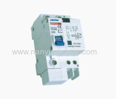 DZ47LE C45LE Residual current circuit breaker with over current protection