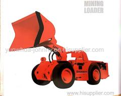 Hot Sale Mining Stone/Rock Underground Front Loader with Reliable Bearing and Carrying