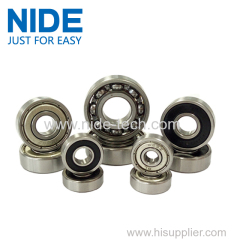 Angular contact electrical ball bearings