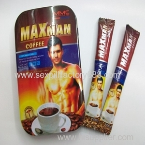 MAXMAN IV Coffee sex supplement for men