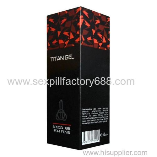 titan gel sex cream male sex products sex cream from china